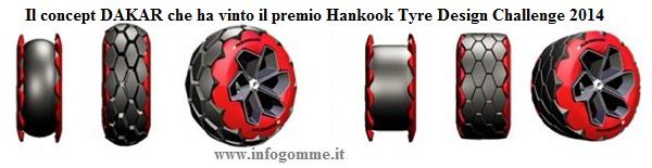 dakar - lo pneumatico che ha vinto il premio Hankook