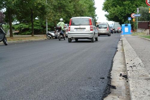 asfalto stradale
