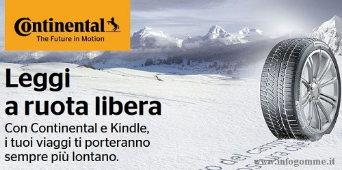 Continental regala Kindle