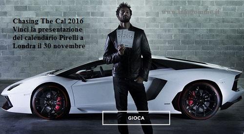 concorso calendario pirelli