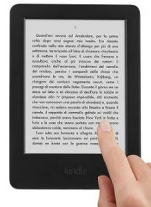 kindle touch in regalo con Continental