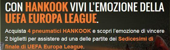 con hankook vinci la uefa europa league