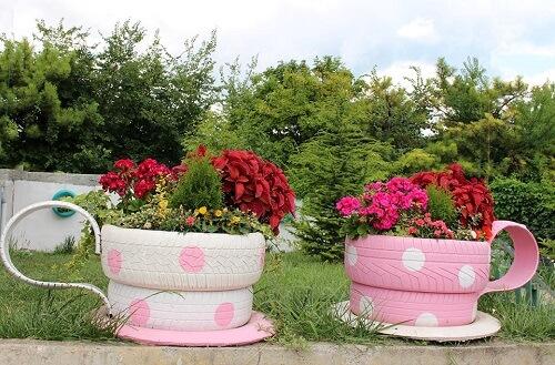 pneumatico da giardino