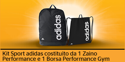 Continental regala kit sportivi Adidas