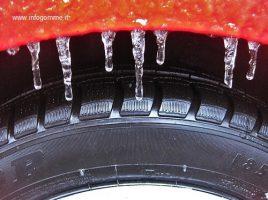 le ruote temono il freddo