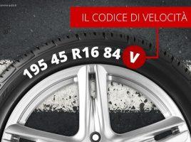 indice velocità gomme auto