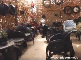 arredamento fatto con pneumatici
