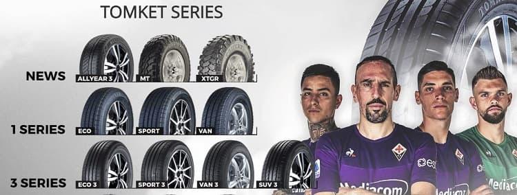 Tomket sponsor della Fiorentina